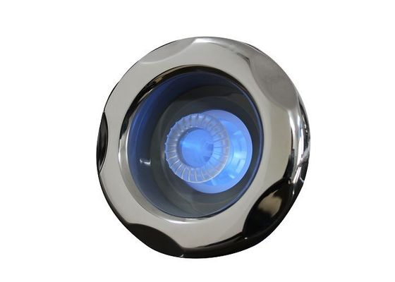 "China 5"" S.S Typhoon Hot Tub Jets Internal - Directional With 5 Scallop Face For LED Illumination supplier"