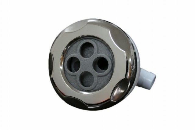 "Bathtub 3.5"" Spray Jet Nozzles / Massage Bath Crock Fitting Hydro Jet Spa / Mini Outdoor Swimming Pool"