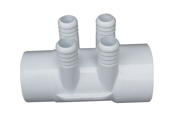 "Water Manifold 2""-4*3/4 Pipe Fittings Underground Massage bath Four Way Plumbing Connector"