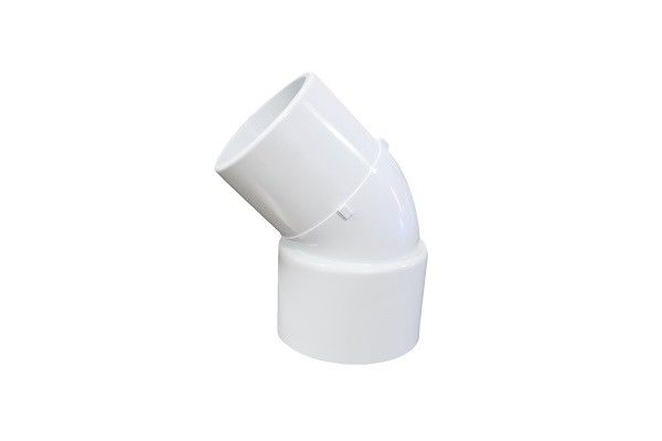Quot degree pvc elbow fittings polished pipe