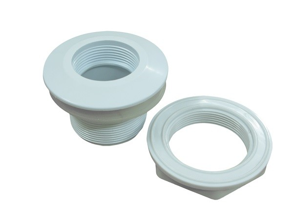 spa hydro pvc adaptor fittings polished pvc pipe connector jetted tub parts replacement