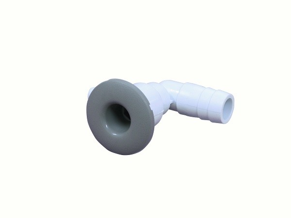 "Fixed 2"" / 50.8 mm Metallic Hot Tub Nozzles / Portable Plastic Bathtub Jet"