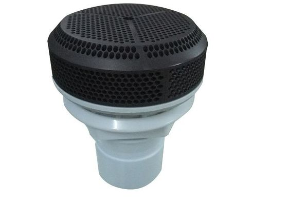 Black Spa Hot Tub Suction Assembly Socket With 2 Inch Straight Nut