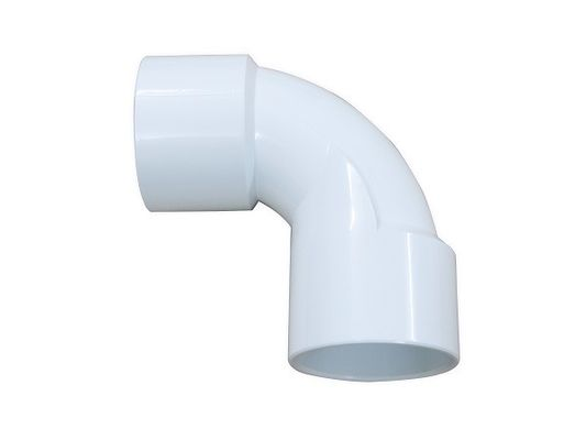 China Regular PVC Elbow Fittings For Gas And Sewage System , Pvc Pipe 90 Degree Elbow factory
