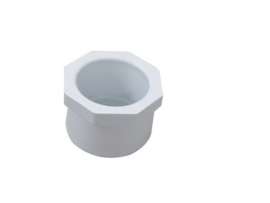 Glue Mount Type 1.5 Inch to 1 Inch PVC Adaptor Fittings , PVC Reducer Coupling